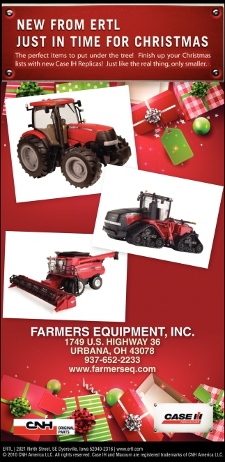 New From Ertl Just In Time For Christmas