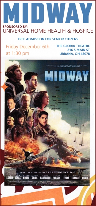 Midway at The Gloria Theatre - December 6th