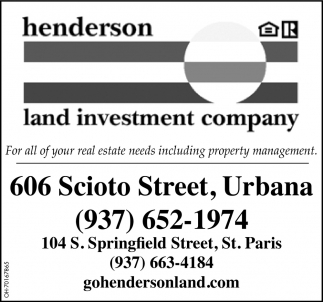 For all of your real estate needs including property management