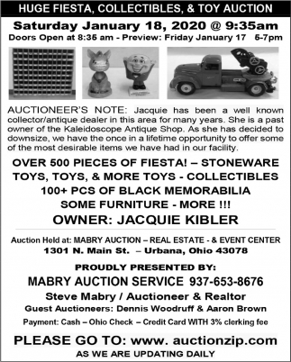 Auction January 18