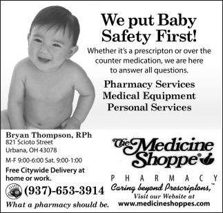 We put Baby Safety Firts!