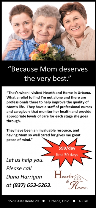 Because Mom deserves the very best