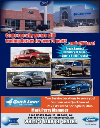 Area's Largest Inventory of Super Duty & F-150 Trucks