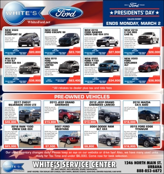 President's Day Sales Event