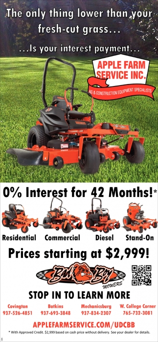 0% Interest for 42 Months!