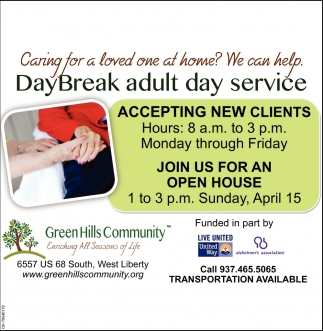 DayBreak adult day service