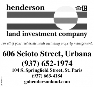 For all your real estate needs including property management