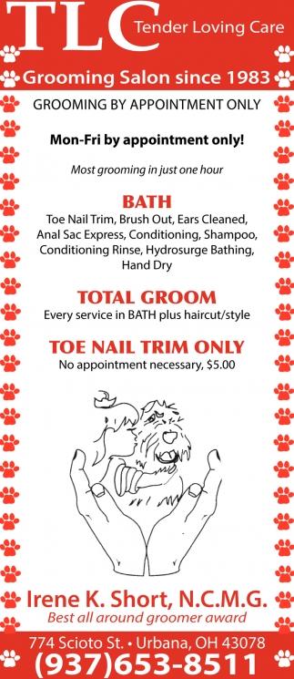 Grooming Salon since 1983