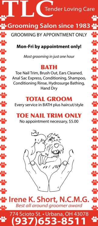 Grooming Salon since 1983
