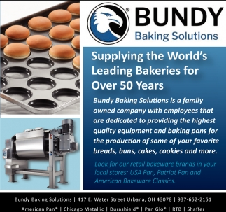 Supplying the World's Leading Bakeries for Over 50 Years