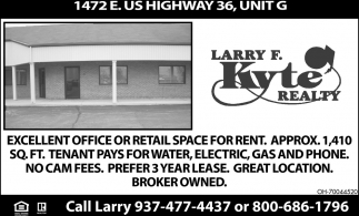 1472 E. US Highway 36, Unit G