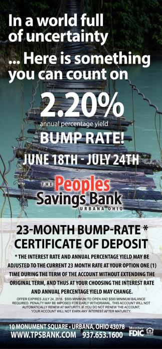 Bump Rate