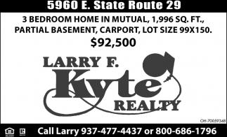 5960 E. State Route 29