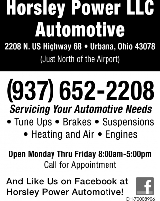 Servicing Your Automotive Needs