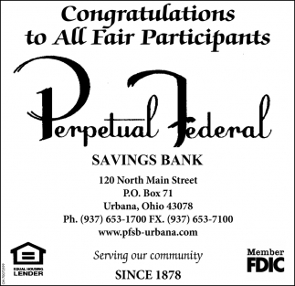 Congratulations to all Fair Participants
