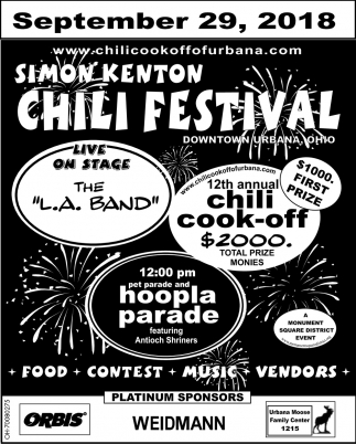 Food, Contest, Music, Vendors