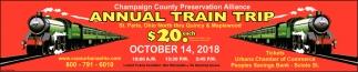 Annual Train Trip