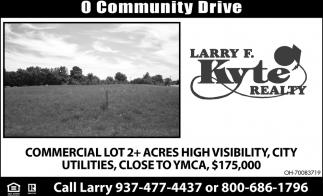= Community Drive