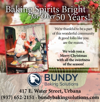 Baking Spirits Bright for Over 50 Years!