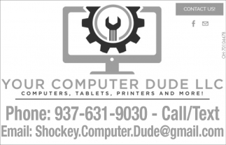 Computers, Tablets, Printers and More!