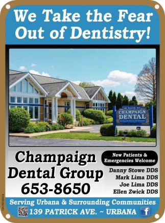 We Take the Fear Out of Dentistry