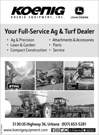 Your Full Service Ag & Turf Dealer