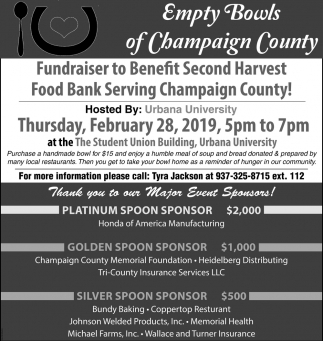 Fundraiser to Benefit Second Harvest