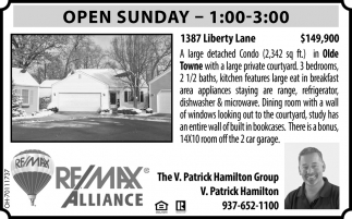 Open House - 1387 Liberty Lane