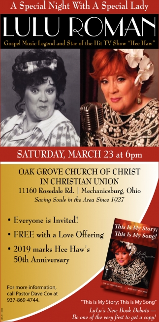 A Special Night With A Special Lady - Lulu Roman