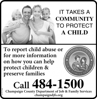It takes a community to protect a child