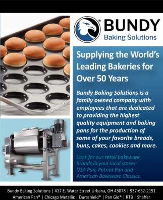 Supplying the World's Leading Bakeries for Over 50 Years!