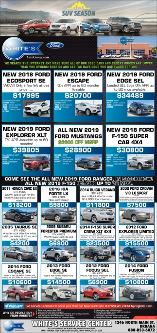 Our used cars and trucks prices are lower than the others shops