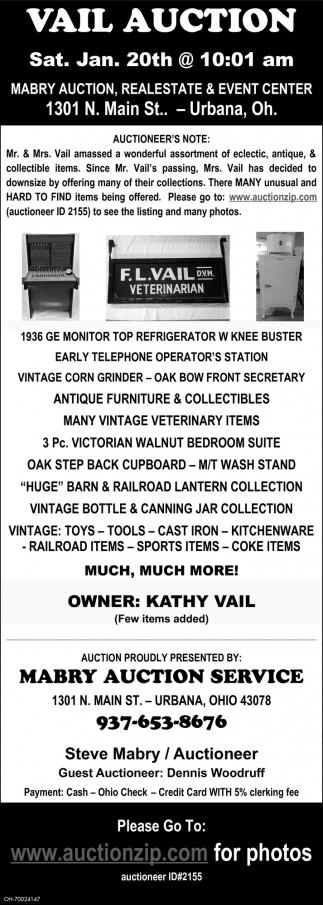 Vail Auction
