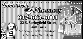 An independent Good Neighbor pharmacy located in Saint Paris Ohio