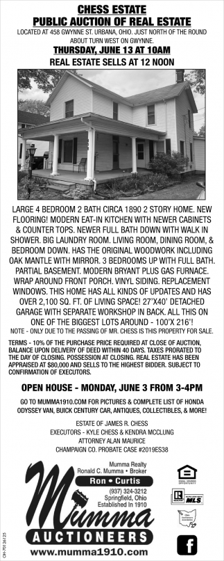 Public Auction of Real Estate
