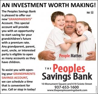 Grandparents Savings Account