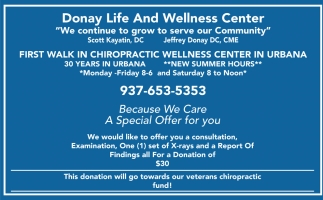 First Walk Chiropractic Wellness Center in Urbana