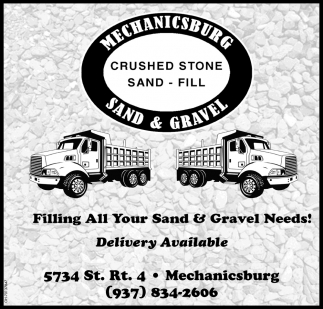 Filling All Your Sand & Gravel Needs!