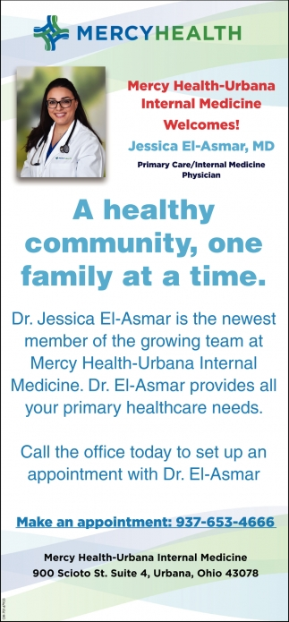Welcome Jessica El-Asmar, MD