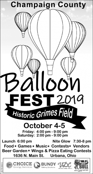 Balloon Fest 2019 - Historic Grimes Field
